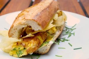 Egg Chip Sandwich