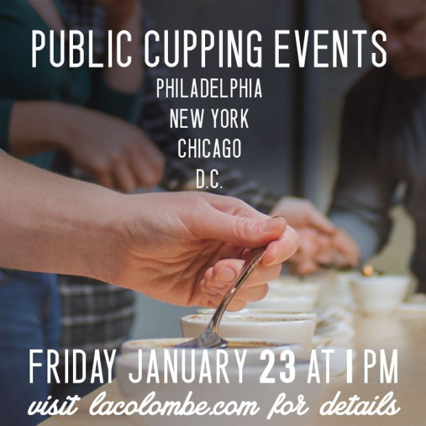 Public Cupping - Jan. 23