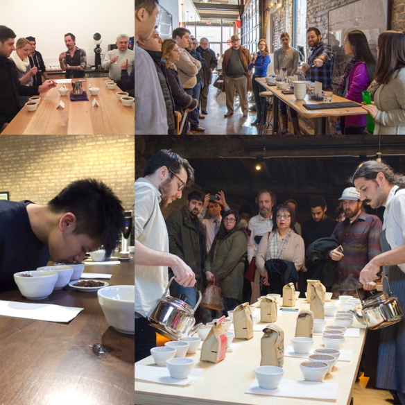 Public Cuppings - Collage