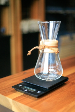 chemex on scale-2