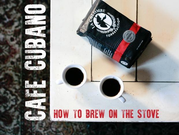 Cuban Coffee graphic