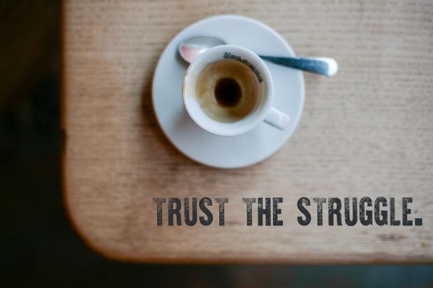 trust the struggle